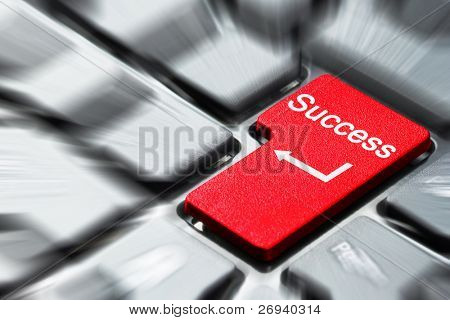 Success button on keyboard