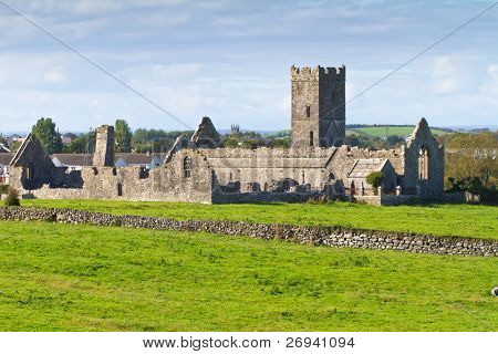 Ruins of Clare Abbey near Ennis, Co. Clare - Ireland