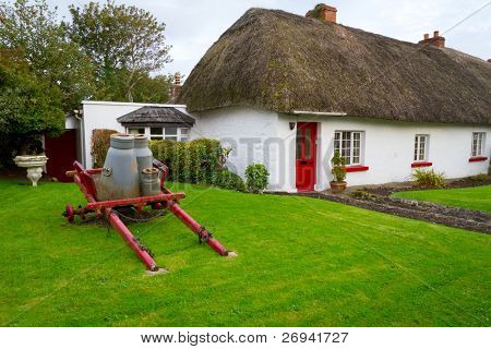 Traditional cottage houses in Adare, Co. Limerick, Ireland