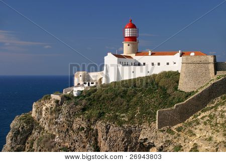 Cape St Vincent Lighthouse Sagres Portugal