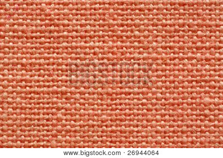 Pink cotton fabric - close up