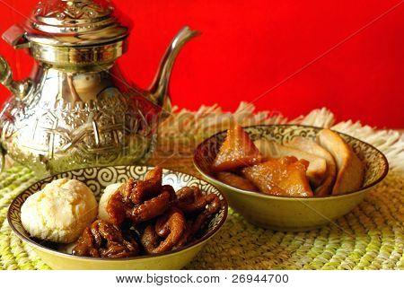 Marokkanische Cookies für Ramadan