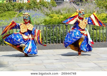 Ritual dances from Buthan in NY
