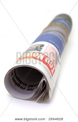 Roll Of Newspaper - Top News