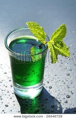 Mint liqueur