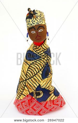 African doll from Swaziland
