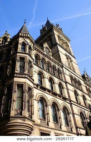 Victorian Town Hall in Manchester, UK
