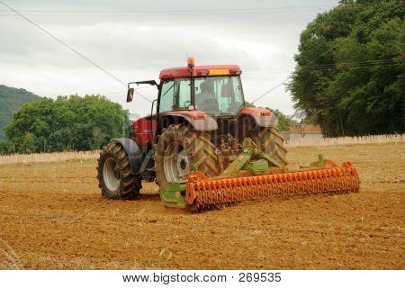 Francés Tractor arado