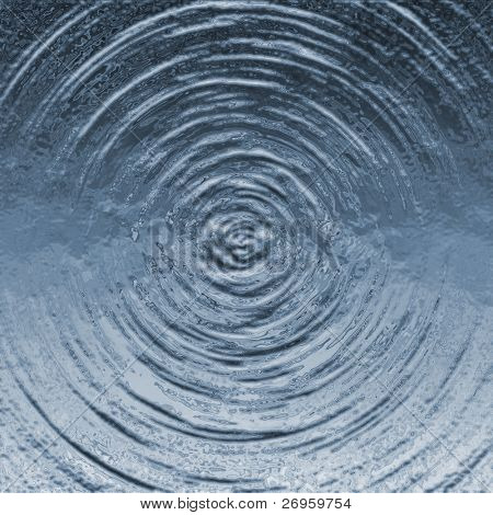 concentric water wave ripples