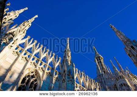 Milan cathedral dome