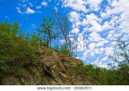 Geologic formations - slump