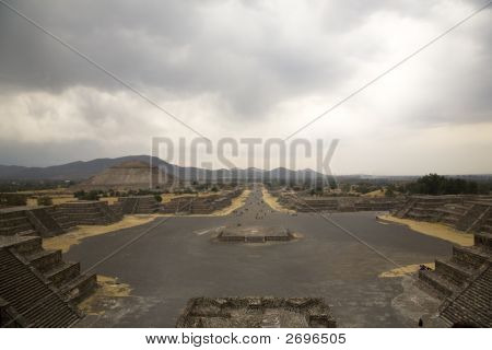 Avenue Of Dead, Teotihuacan, Mexico