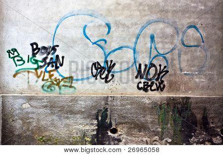 Gang graffiti