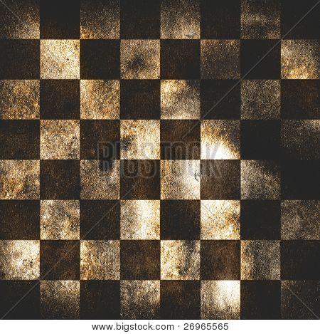 Grungy chessboard