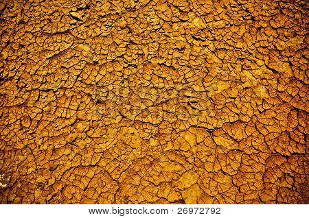 Arid soil texture
