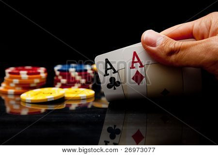 Playing poker