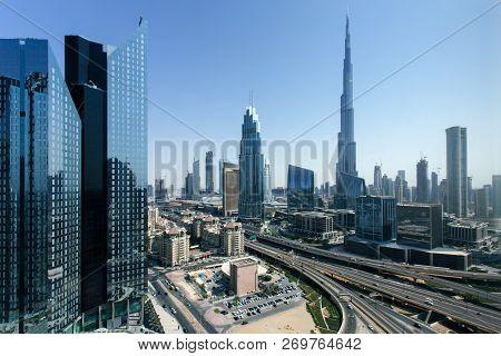 Beautiful Aerial View To Dubai