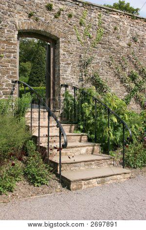 Ancient Garden Stairway