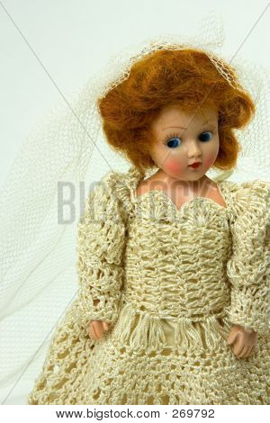 Bride Doll From The 1950s