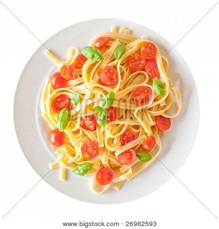 Pasta dish closeup