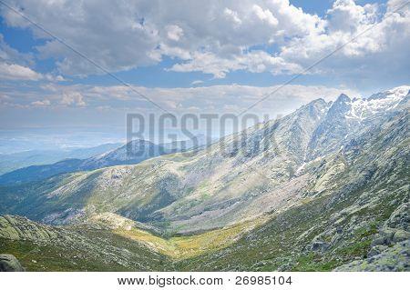South Gredos Mountains