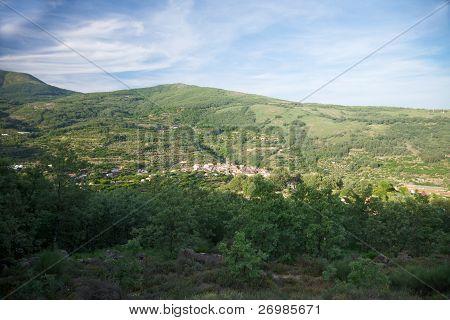 Spanish Village Landscape