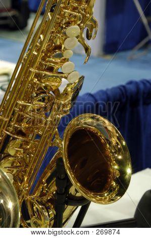 Brass Alto Saxophone