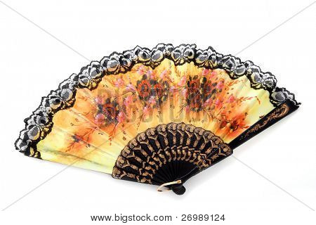 Image of the bright open fan.
