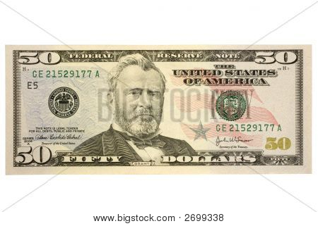 Fifty Dollar Bill