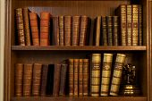 picture of vintage antique book  - Old books - JPG