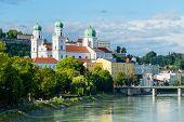 Cityscape Skyline Landmark Passau Germany Bavaria Europe poster