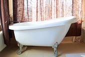 picture of mixing faucet  - antique bath - JPG