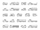 Construction Machines. Trucks, Tractors, Delivery Trailers, Cargo Trukcs, Dumpers And Heavy Equipmen poster