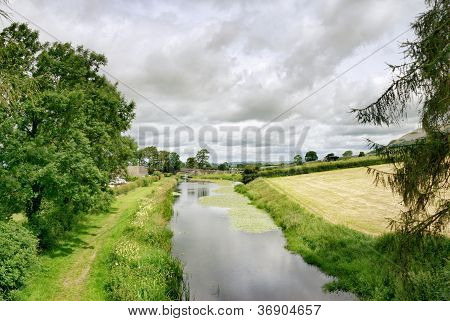 Lancaster Canal at Holme