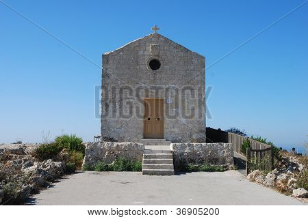 Small Chapel at Dingli Cliffs