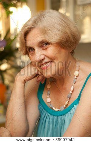 Fine old woman