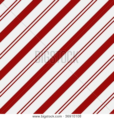 Red And White Striped Fabric Background With Gold Stars