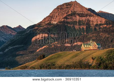 Prince Of Wales Hotel At Waterton Lakes National Park