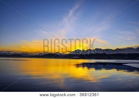 End of the Day in Tierra del Fuego