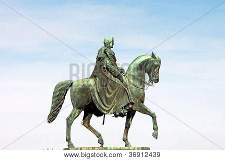 King John of Saxony Statue