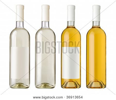 White Wine Bottle I