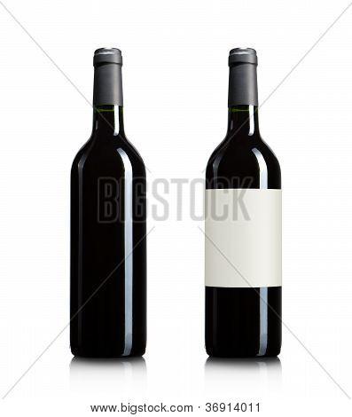 Blank Wine Bottles