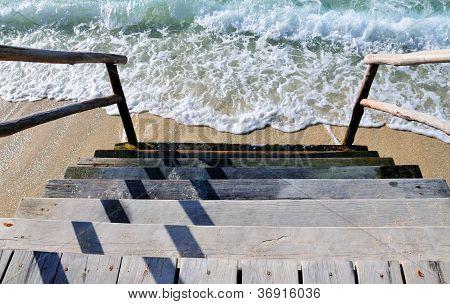 Step Into The Beach