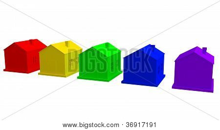 The Colored Houses