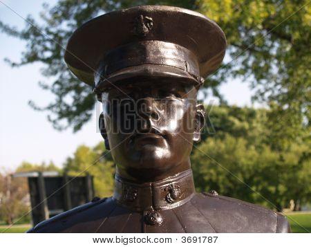 Veterans Memorial Statue