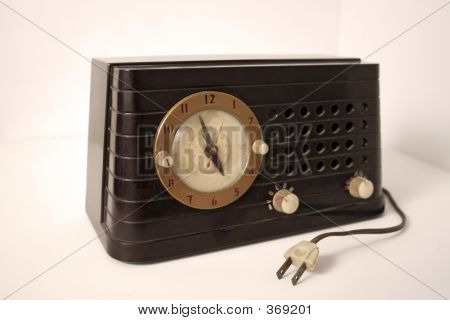 Antique Clock Radio