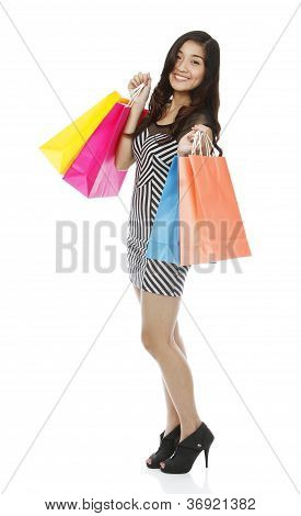 Young Woman Shopping