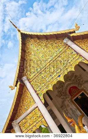 Beautiful Thai Temple Wat Buddha