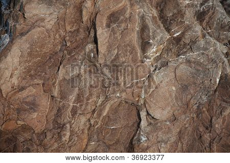 Brown Stone With Protuberances