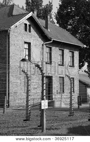 Barrack at Auschwitz